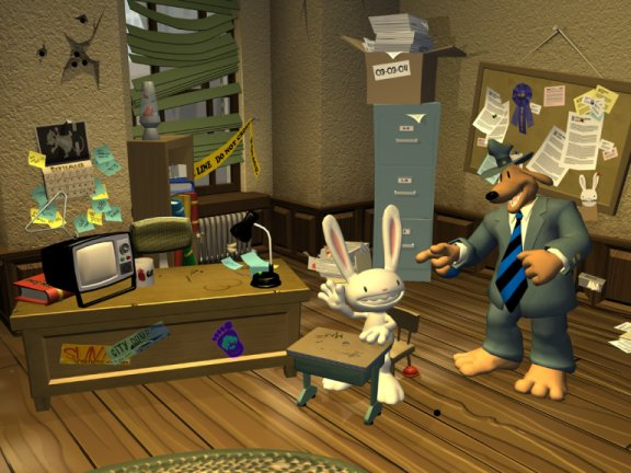 Sam and Max's Office